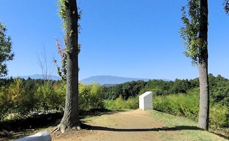 展望台から葛城山