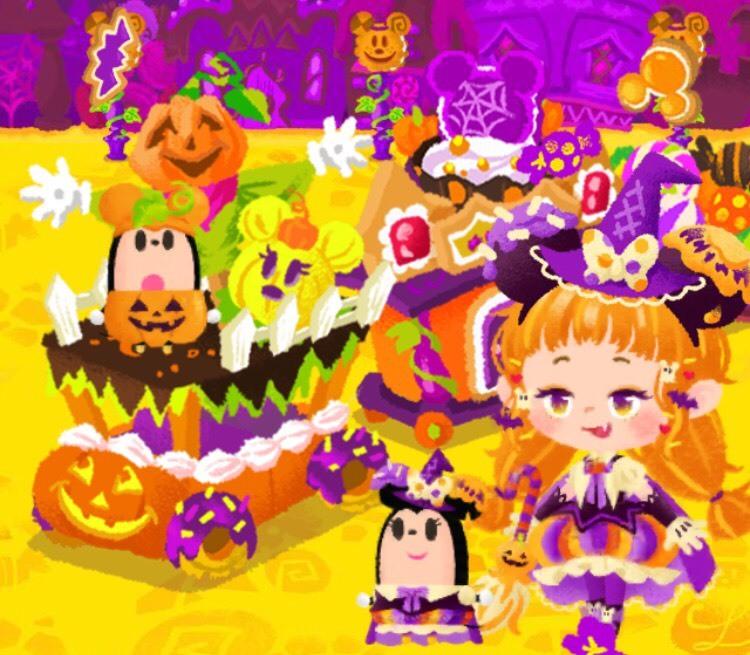 お菓子なハロウィーンパレード アイキャッチ候補2