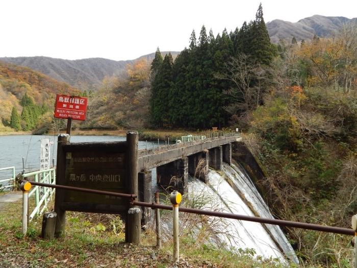 DSCN4146加茂水源池第二ダム