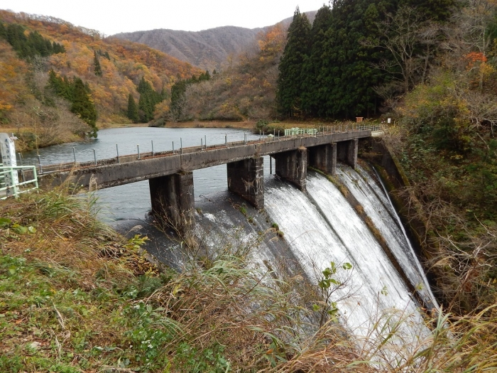 DSCN4153加茂水源池第二ダム