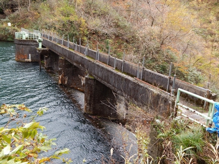 DSCN4165加茂水源池第二ダム