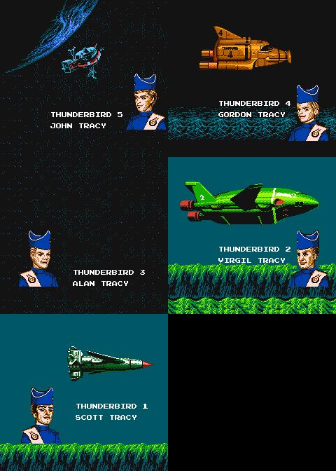 【ファミコン系】THUNDERBIRDS ARE GO!