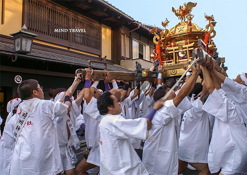 晴明神社 清明祭 神輿