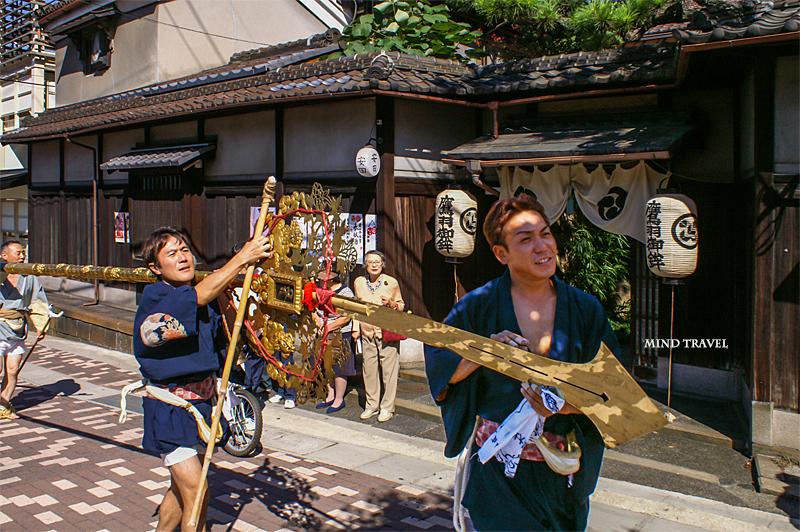 粟田神社 鉾
