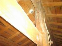重要文化財天井裏感知器 定温式スポット型感知器 小林消防設備