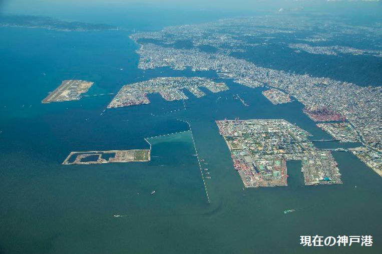 20170528現在の神戸港
