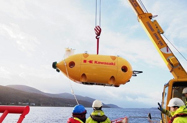 20171123川重の自律型無人潜水機