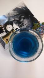 青いお茶2
