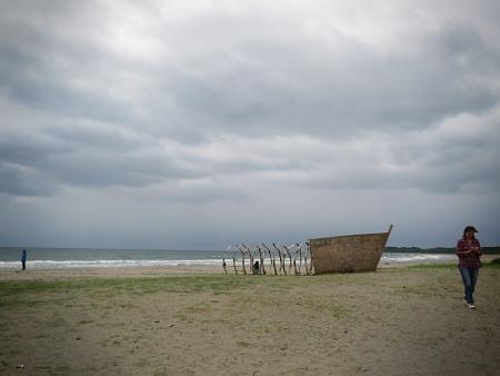 小山真徳「最涯の漂着神」
