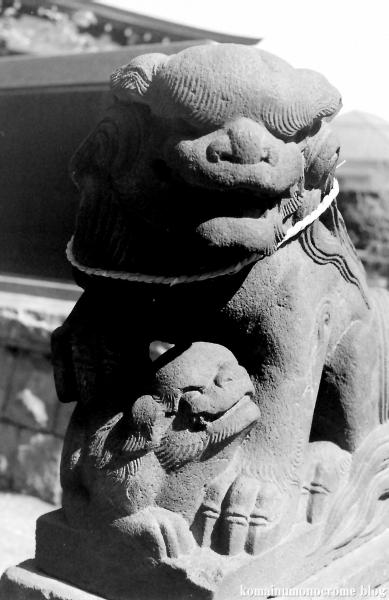 篠原八幡神社(横浜市港北区篠原町)2