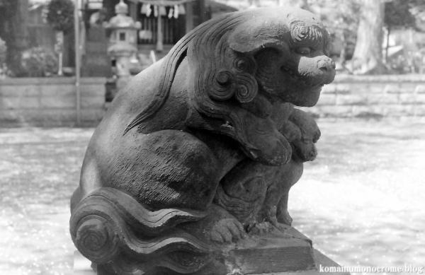 八杉神社(横浜市港北区大豆戸町)3