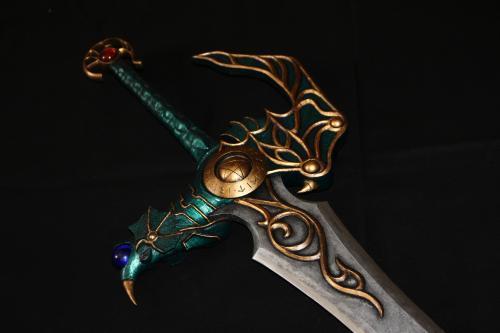 H様 ドラゴンクエスト 天空の剣(非金属製) 完成!5