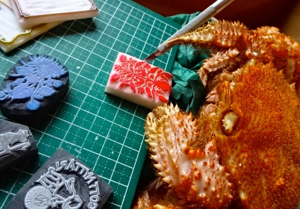 はんこ蟹2