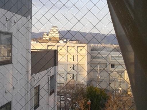 姫路のホテルから