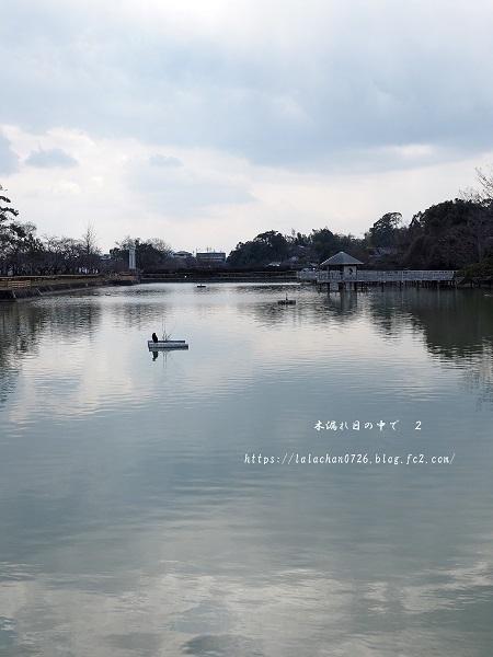2月に 八条ヶ池