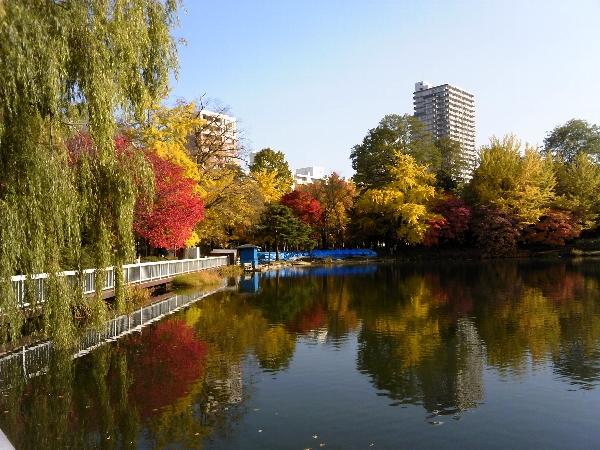 中島公園紅葉01