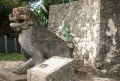 御茶屋御殿石造獅子