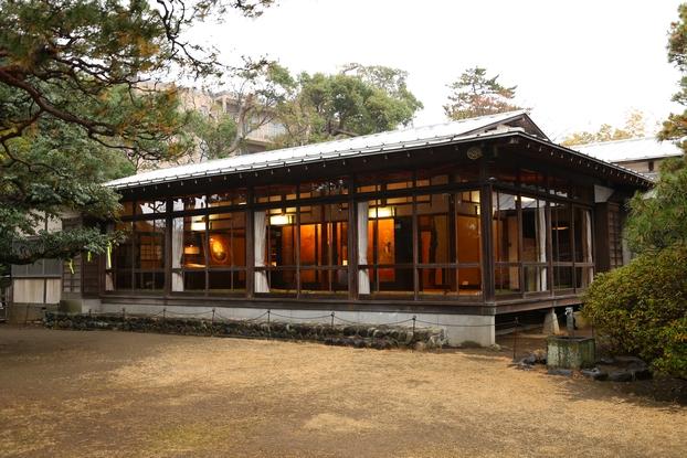 旧大隈重信邸・富士の間(外観)