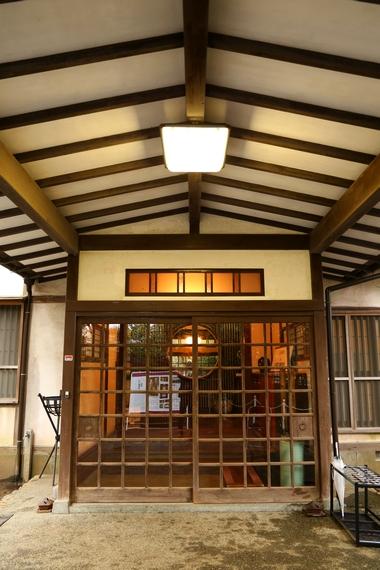 旧大隈重信邸・玄関②