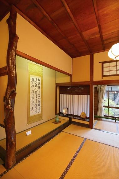 旧大隈重信邸・富士の間(床の間)