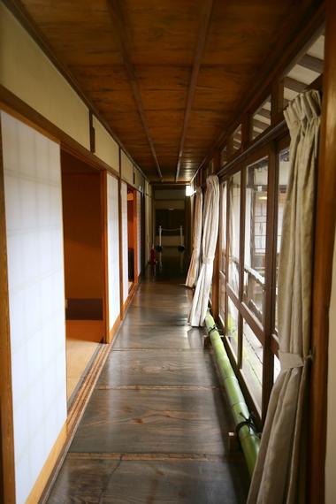 旧大隈重信邸・廊下