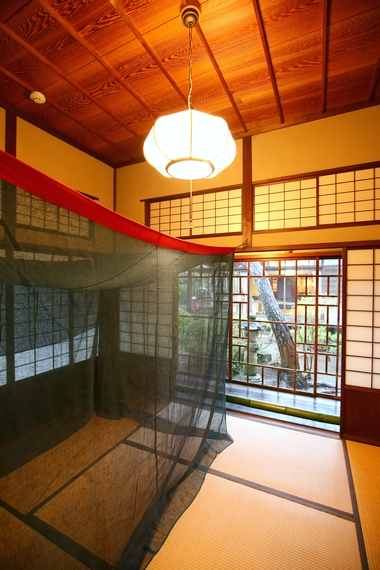 旧大隈重信邸・神代の間(寝室)