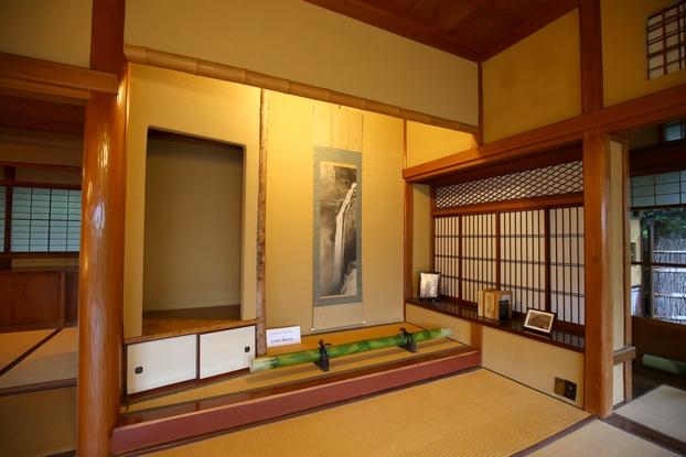 旧陸奥宗光邸・応接室兼主人室(床の間)