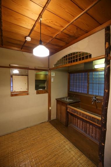 旧陸奥宗光邸・洗面室