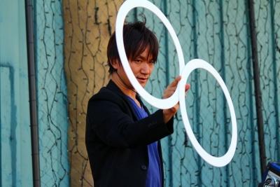 名古屋港シートレインランド,関西、大阪のマジシャン,Entertainer MIKIYA,エンターテイナーミキヤ,大道芸人