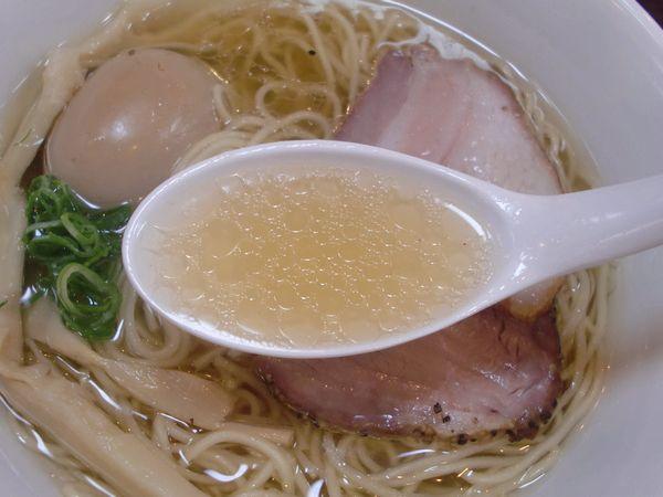 かしわぎ@東中野・20170727・スープ