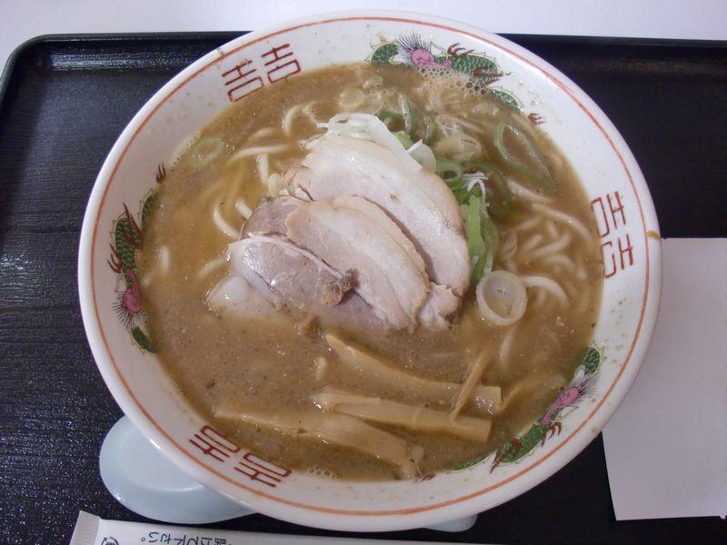 長尾中華そば@渋谷・20170730・こく煮干し