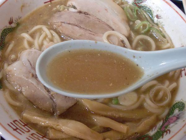長尾中華そば@渋谷・20170730・スープ