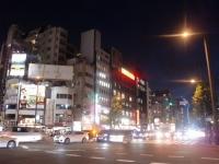 灯花紅猿@四谷三丁目・20171009・交差点