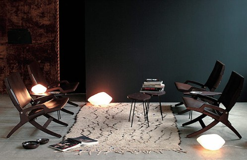 Stone of Glass 204(ストーンオブグラス204)  テーブルランプ Laudani&Romanelli(ラウダーニ & ロマネリ) Oluce(オルーチェ)