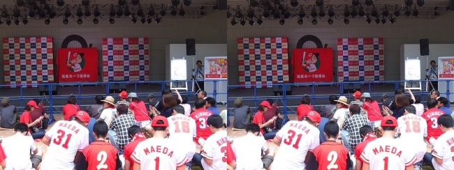 第8回 広島カープまつり in 大阪 大野豊トークショー①(平行法)