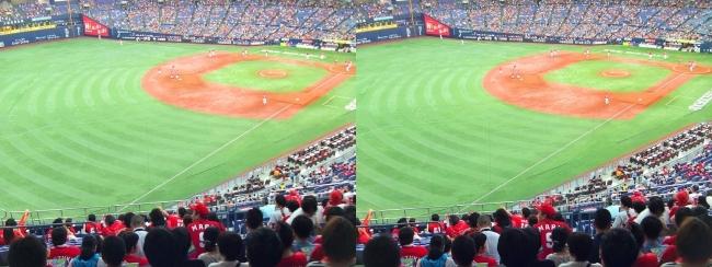 巨人―広島 京セラドーム大阪 2017.7.27③(交差法)