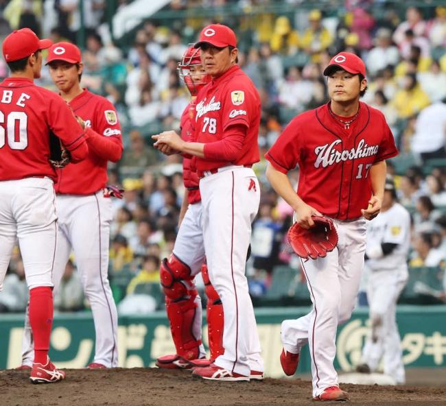 5月6日 阪神-広島 甲子園の悲劇 投手陣9点差守れず