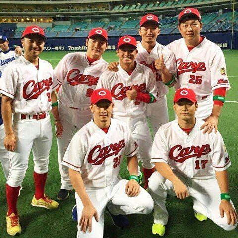 7月14日 オールスター戦 ナゴヤドーム カープ選出メンバー