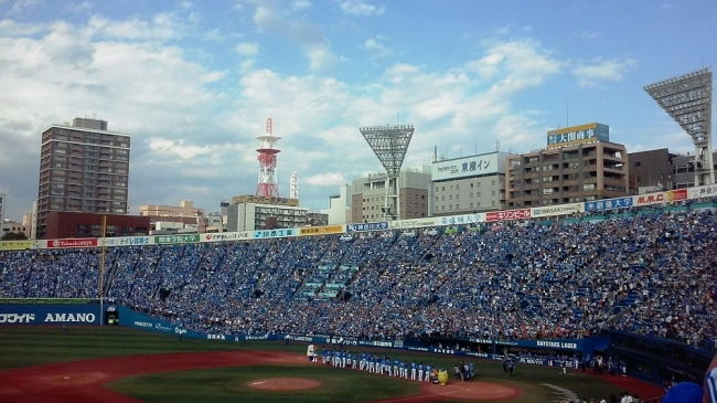 横浜スタジアム 2017年8月22~24日