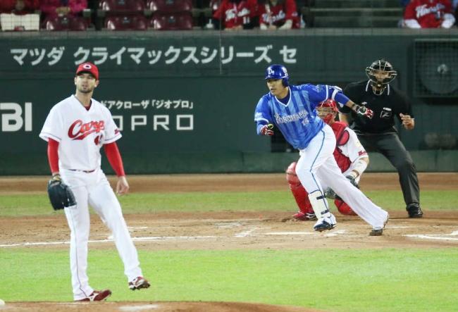 DeNA井納、史上初のV撃&1―0勝利