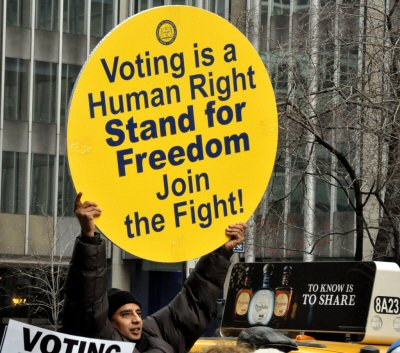 03 400 Voting is human right
