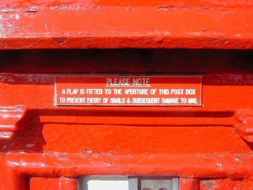 05 500 snail post box
