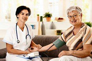 05 300 nurse measur blood pressure