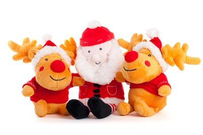 08 400 Santa Reindeer