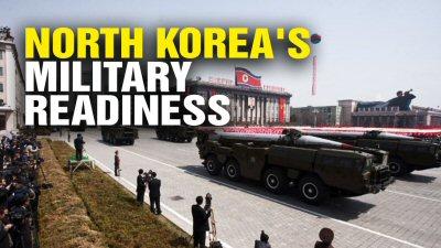 02 400 北朝鮮軍事力強化