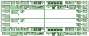 元7021F 8連
