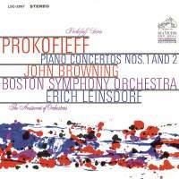 John Browning - CD03 Prokofiev Piano Concertos