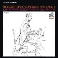 John Browning - CD05 Prokofieff Piano Concertos Nos3-4