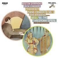 John Browning - CD08 Prokofieff Piano Concerto No 5,WeillKleinw Dreigroschenmusik