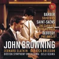 John Browning - CD11 BARBER,SAINT-SAENS,DEBUSSY